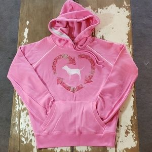 Victoria's Secret PINK Recycle Love Planet Hoodie